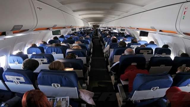 Yolcu uçağında korkunç ölüm !