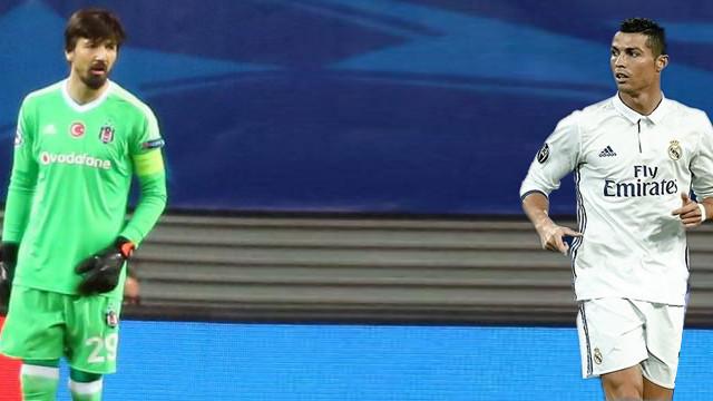Tolga Zengin ve Ronaldo tarihe geçti