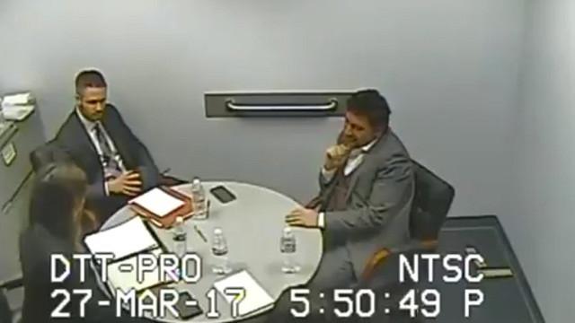 Hakan Atilla'nın ilk sorgunun görüntüleri ortaya çıktı