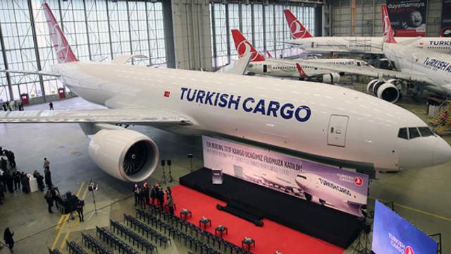 THY'nin ''Boeing 777'' kargo uçağı teslim töreni
