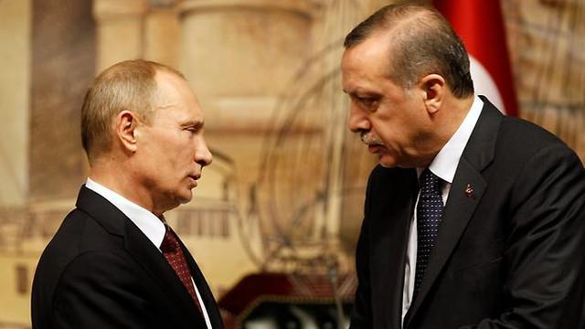Erdoğan ve Putin'den ''Kudüs'' görüşmesi