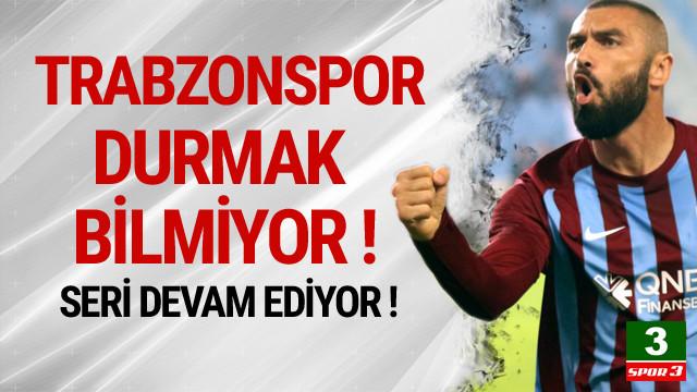 Trabzonspor durmak bilmiyor !