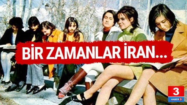 Devrimden önce İran kadını