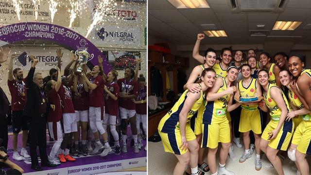 Fenerbahçe kadın basketbol takımı final için oynayacak