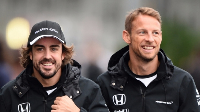 Formula 1'de Alonso'nun yerine Button