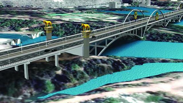 Devlet Bahçeli Köprüsü için 240 milyonluk borçlanma kararı