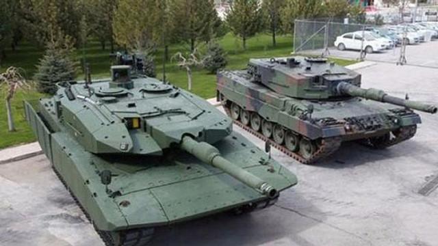 Türkiye'de tank fabrikası kurulmasına Almanya engeli