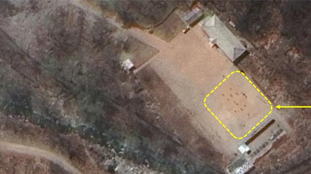 Nükleer tesiste dikkat çeken görüntü