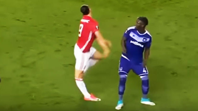 Zlatan Ibrahimovic'in şoke eden görüntüsü