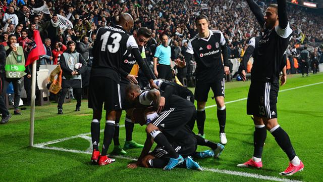 Beşiktaş'ın UEFA'daki yükselişi sürüyor !