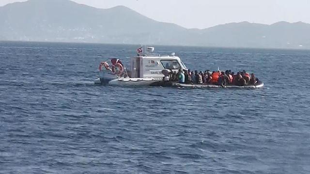 Bir haftada 353 göçmen ve 11 göçmen kaçakçısı yakalandı