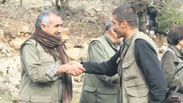 Hendekçi teröristin Murat Karayılan'la fotoğrafı ortaya çıktı