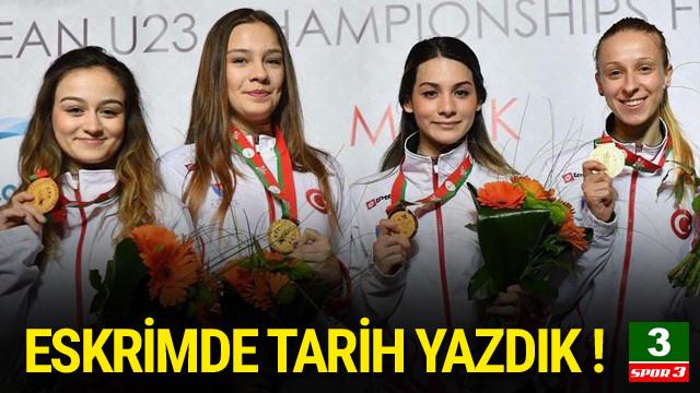 Türk eskriminde yeni bir tarih yazıldı