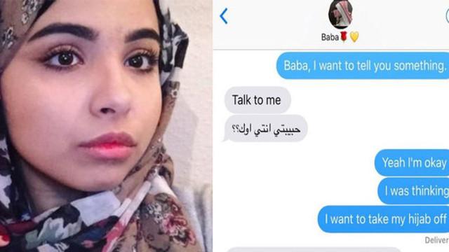 Sosyal medya başörtülü genç kızı konuşuyor