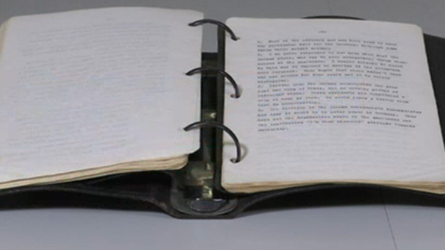 Kennedy'nin günlüğü 718 bin dolara satıldı