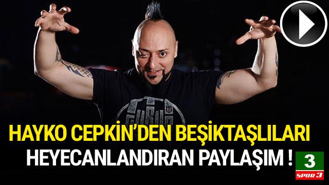 Hayko Cepkin'den Beşiktaş marşı !