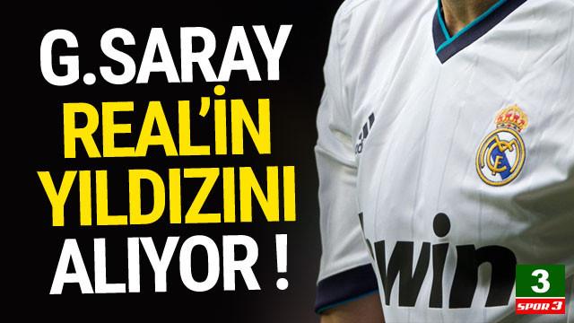 Real'in yıldızı Galatasaray'a geliyor