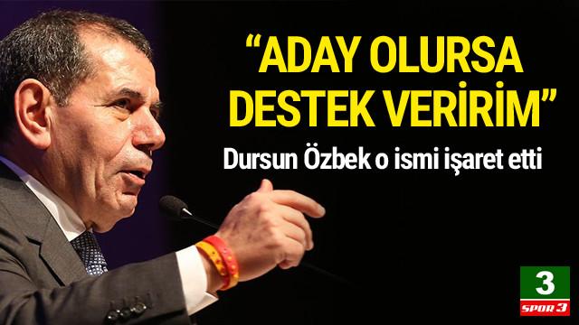 Dursun Özbek'ten Adnan Öztürk açıklaması