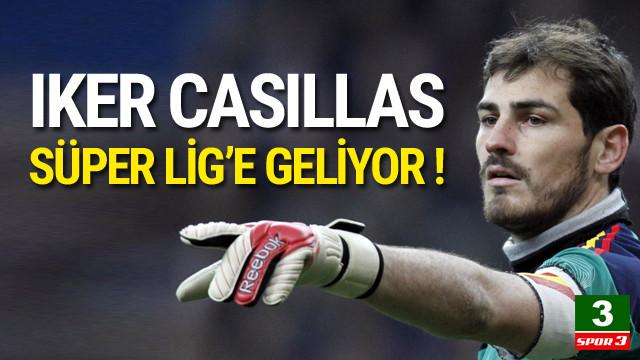 Casillas Fenerbahçe'ye doğru !