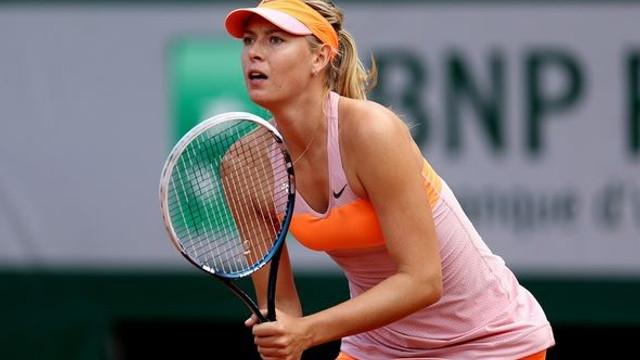 Maria Sharapova yarı finalde !