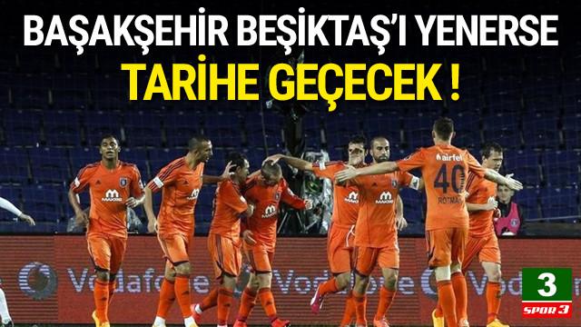 Başakşehir Beşiktaş'ı yenerse tarihe geçecek