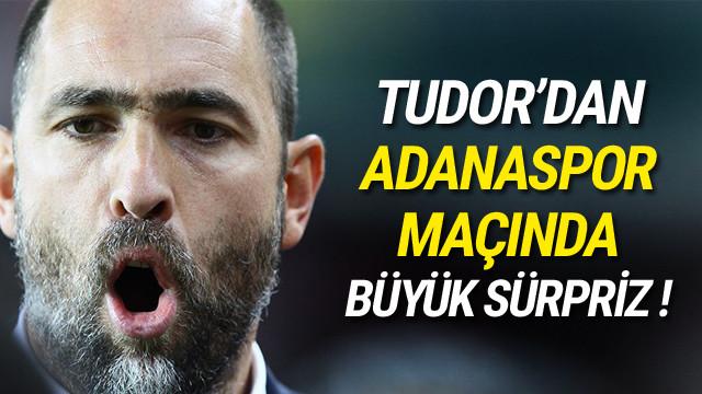 Tudor'dan sürpriz Sneijder kararı