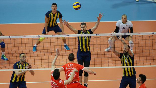 Fenerbahçe CEV Şampiyonlar Ligi biletini kaptı
