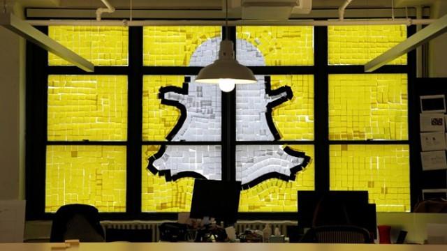 Snapchat'ten büyük zarar