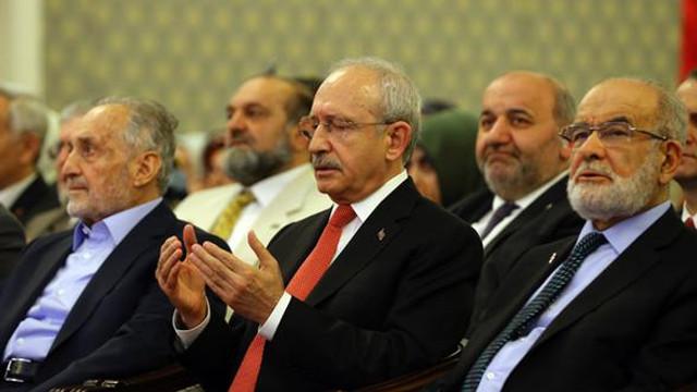 Kemal Kılıçdaroğlu Saadet Partisi Lideri Karamollaoğlu'nu Ziyaret Etti