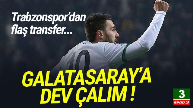 Trabzonspor'dan Galatasaray'a dev çalım