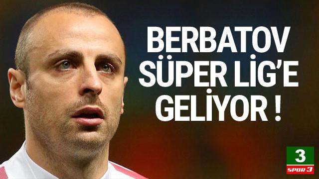 Dimitar Berbatov Süper Lig'e geliyor !