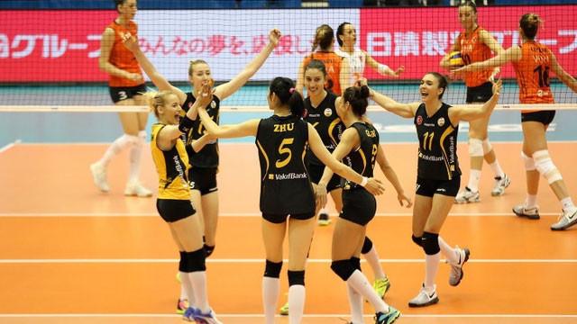 VakıfBank dünya şampiyonluğu için finalde