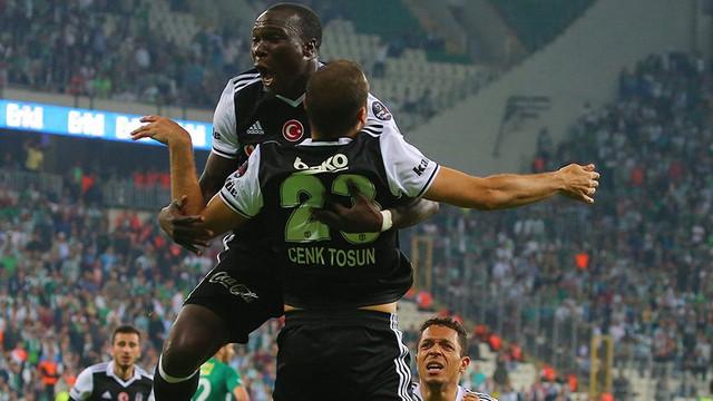 Bursaspor - Beşiktaş maç sonucu: 0-2