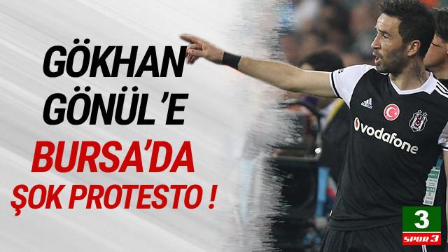 Gökhan Gönül'e Bursa'da şok protesto !