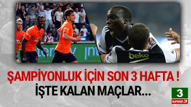 İşte Beşiktaş ile Başakşehir'in kalan maçları