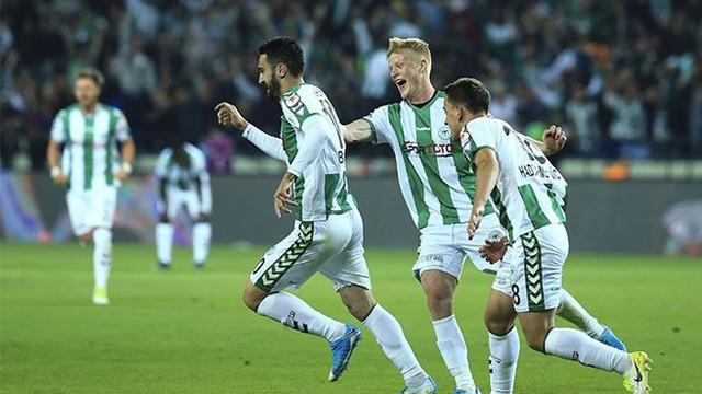 Konyaspor Türkiye Kupası'nda finalde !