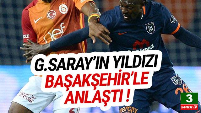 Galatasaraylı yıldız Başakşehir yolunda !