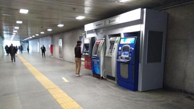Metrodaki ATM'ler geri döndü