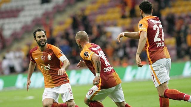 Galatasaray 2 - 0 Osmanlıspor / Maç sona erdi