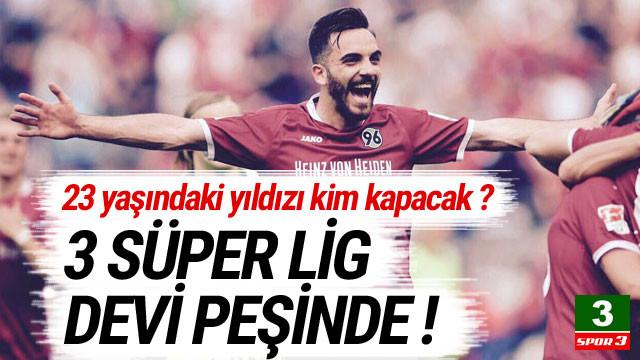 3 Süper Lig devi Kenan Karaman'ın peşinde !
