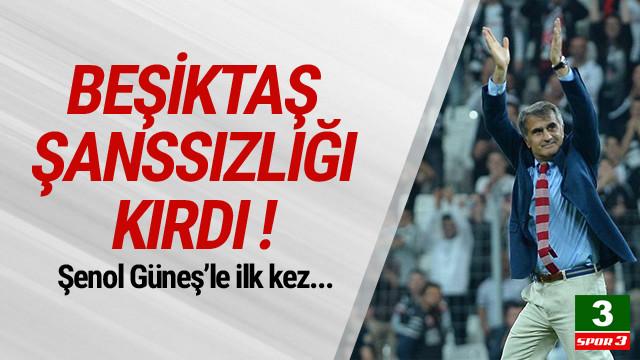 Beşiktaş, Kasımpaşa şanssızlığını kırdı