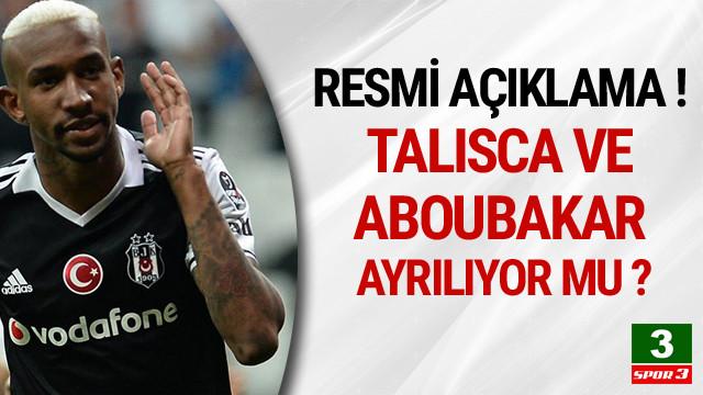 Talisca ve Aboubakar ayrılıyor mu ?