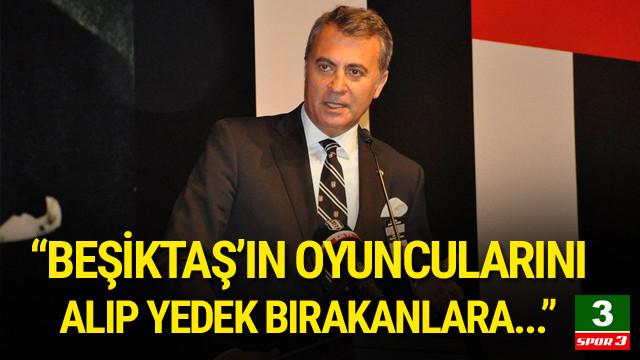Fikret Orman: Beşiktaş'ın büyüklüğünü gösteriyoruz