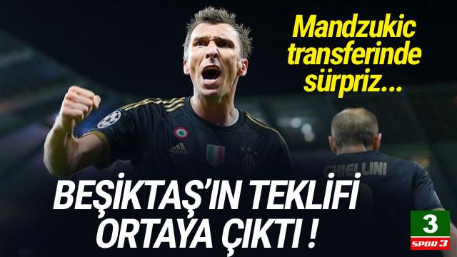 Beşiktaş'ın Mandzukic teklifi ortaya çıktı