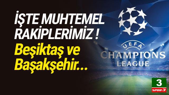 İşte Beşiktaş ve Başakşehir'in muhtemel rakipleri