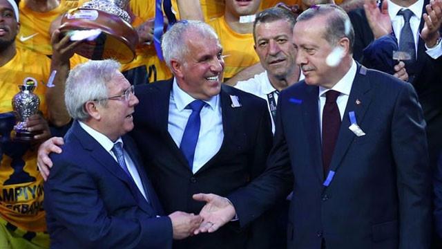 Fenerbahçe'den Erdoğan'a teşekkür