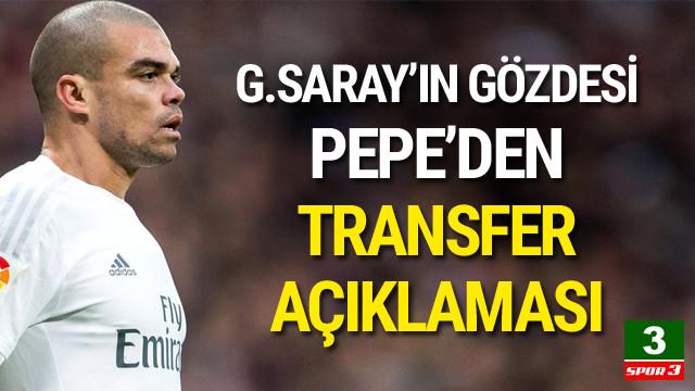 Pepe'den flaş transfer açıklaması