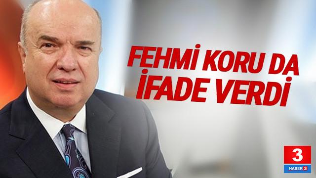 Sözcü Gazetesi'ne soruşturmada Fehmi Koru ifade verdi