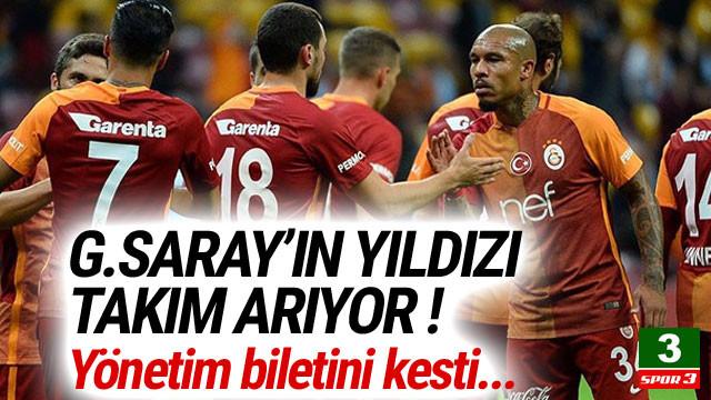 Galatasaray, yıldız futbolcunun biletini kesti