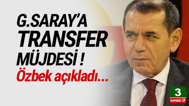 Galatasaray'a transfer müjdesi ! Özbek açıkladı...